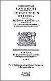 M-Facsimile Reprint Laurenti (Suppl. 7)